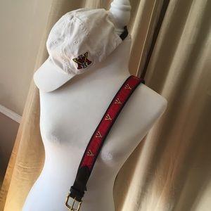 2pieces: VMI Vineyard Vine belt and VMI cap